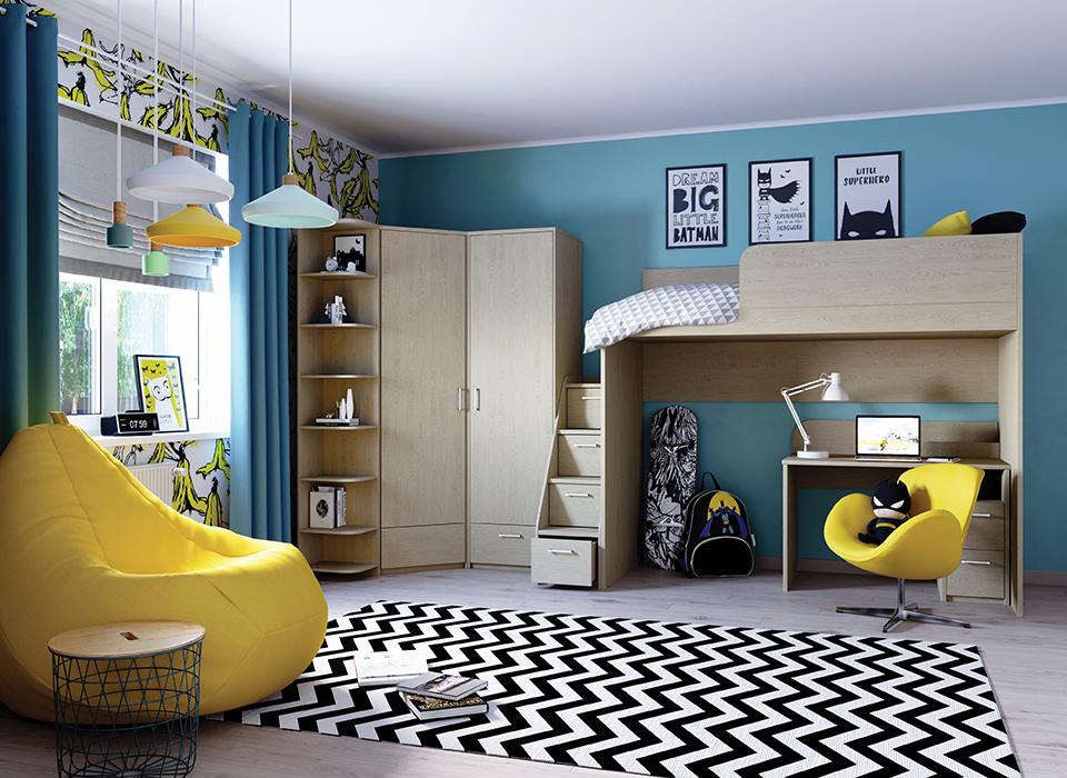 Как превратить обычную комнату в функциональное пространство для ребёнка